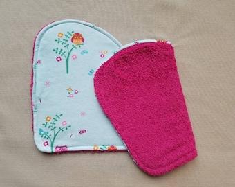 Flannel Burp Cloths, Baby Girl, Baby Shower Gift, New Baby, Owls, Flowers, Birds, Butterflies, Baby Burp Cloths