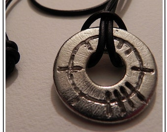 Circle of Life (Beatha) Ogham Pewter Pendant