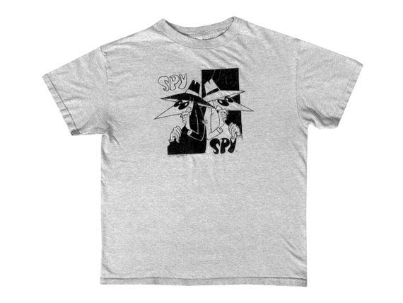 Spy vs. Spy Flocked T-Shirt