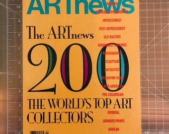 "Art News ""Top Collectors"" 1992"