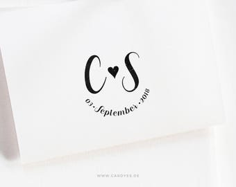 Wedding monogram customized for you! For Save-the-Dates & Wedding Invites