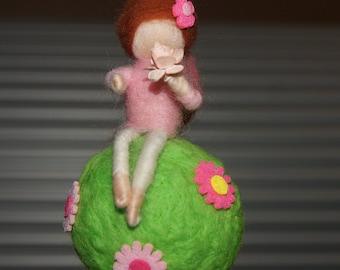 Little felted figure
