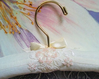 Wedding Hanger, Bridal Gown Hanger, Bridesmaids Gift, Photography Prop, Wedding Gift