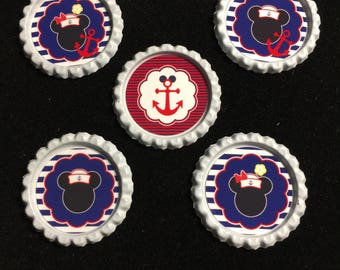 Set of 5 Disney cruise magnets-FE gift-Mickey and Minnie Cruise Magnets-Fish Extender gifts