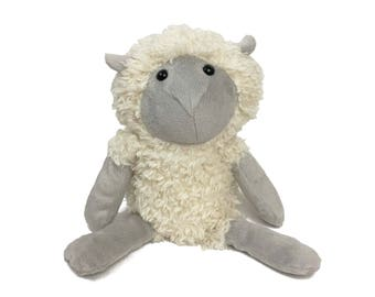 Sheep sewing pattern | Lamb PDF instant download tutorial | Farm stuffed animal | Wool | Ewe | How to sew a sheep | Black sheep