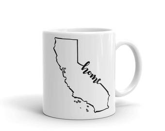 California Home State - Coffee Mug