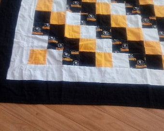 Pittsburgh Steelers Large Lap Quilt