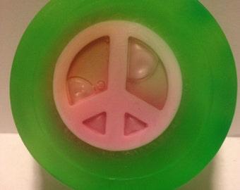 Hippie soap - Peace sign soap - Kids soap