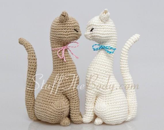 Amigurumi Gato Paso A Paso : Cat princess amigurumi pattern realistic cat crochet pattern