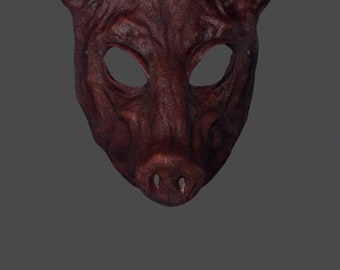 Leather Mask   Leather Boar