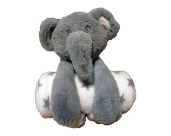 Owen the Elephant - baby shower gift