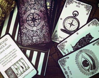 The Original Wychwood Oracle Fortune Cards. Oracle Cards. Fortune Telling Cards. Oracle Deck. Tarot Alternative. Fortune Teller. Clairvoyant