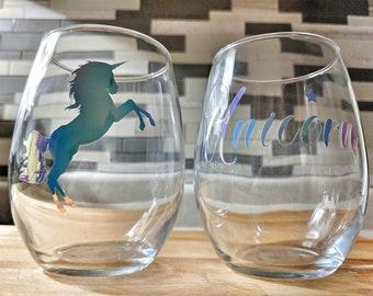 Glass Unicorn duo