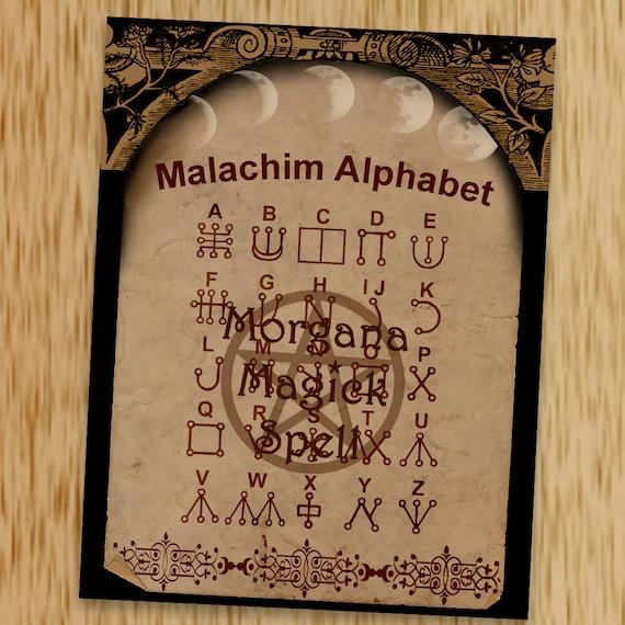 The Malachim Alphabet
