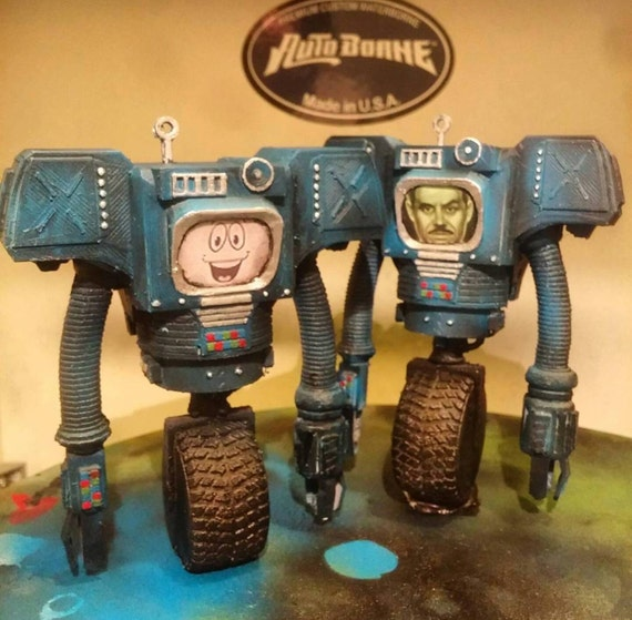 Securitron Figure Yes Man Victor Mr House Beserk From Fallout New Vegas