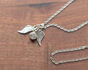 Snitch Necklace, HP Jewelry, Bookish Jewelry, Bookish Necklace, Wizard Jewelry, Harry Necklace, Golden Snitch Inspired, Hogwarts