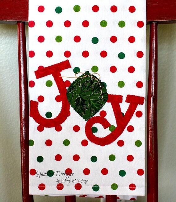 Weihnachten Küche Freude Handtuch Geschirrtuch Weihnachten