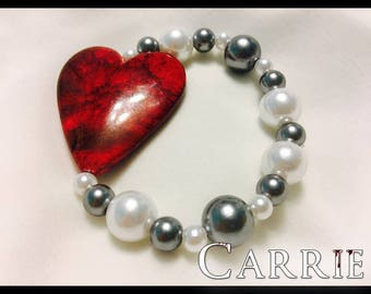 CARRIE (before/after prom) HALLOWEEN bracelets (2 options!)