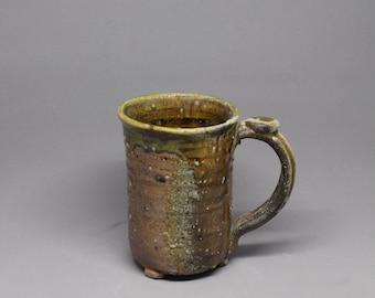 Wood fired mug, 12 oz