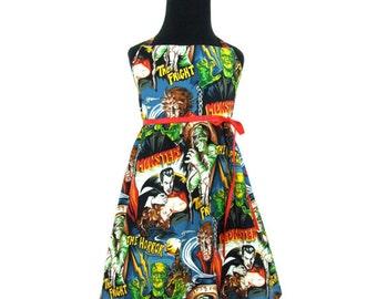 Horror Films Girl's Halter Dress