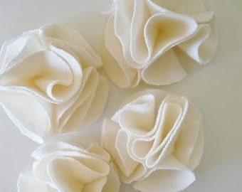 MODÈLE - pdf ePattern - hortensia fleur - bricolage tissu fleurs Tutorial - embellir, bandeaux, broche - Do It Yourself