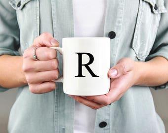 Custom Initial Mug