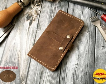 Leather Phone Case for iPhone 7 Leather Case Wallet, iphone 6s case 5S 4 4s S6 case S5 S4 S3 Lg G5 g4 g3 Sony xperia Z5 z4 z3