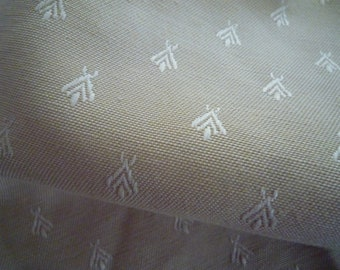 Beige fabric small patterned ivory 65 * 40 cm - 2 units