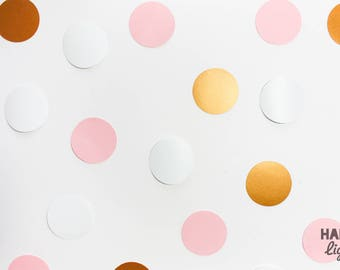 F U N F E T T I pink, white and copper
