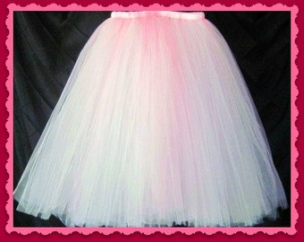 "Princess Skirt Tutu skirt 30"" long customize your size priority shipping Choose your own COLORS"