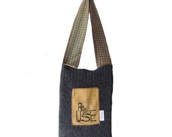 ReUse Blue Shopping Bag