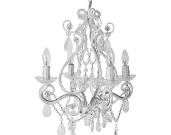 Nursery Decor, Girls Room Decor, Nursery Chandelier, Ceiling Medallion,  Nursery Lighting,