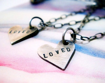 I Am Loved Necklace in Sterling Silver