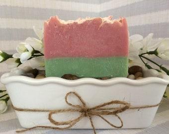Watermelon Hemp Soap