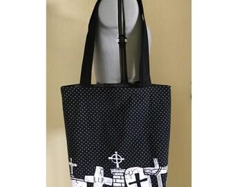 Tote Bag, Library Bag, Large Bag, Teacher Bag