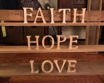Faith Hope Love Set
