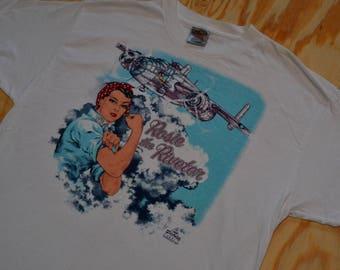 Flippin' Legit Vintage 1995 Rosie The Riveter T-Shirt