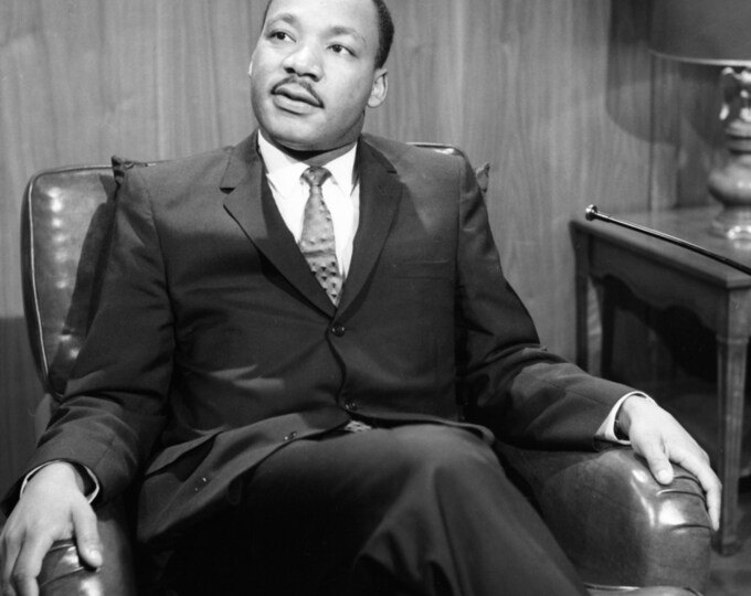 "Dr. Martin Luther King on ""Washington Conversation"" - 8X10 or 11X14 Photo (AZ-027)"