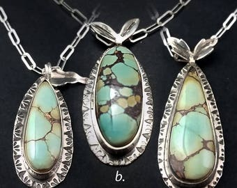 Treasure Mountain Turquoise Kinetic Pendants SALE