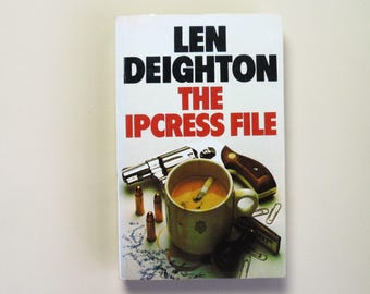 Len Deighton - The Ipcress File - 1985 - Triad Panther Book - Paperback book - Second hand books