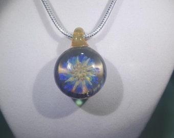 Skyrider Borosilicate Glass Pendant