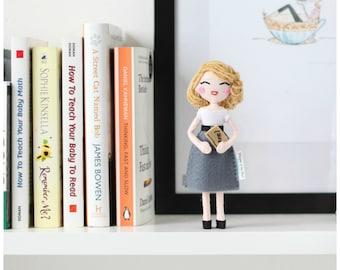 Sylvia Plath Doll, American Poet