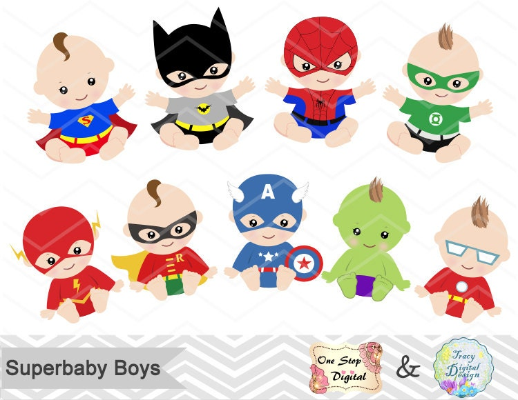 digital superhero baby boys clipart superhero baby clip art clipart i love you we love you clipart image