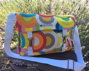 Bright & Happy Crossbody Messenger Bag