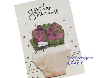Garden Memo-It Post-It Sticky Notes
