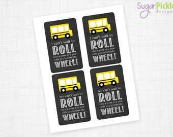 Gift tag etsy bus driver appreciation gift solutioingenieria Choice Image