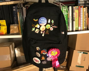1990s Backpack with Pins