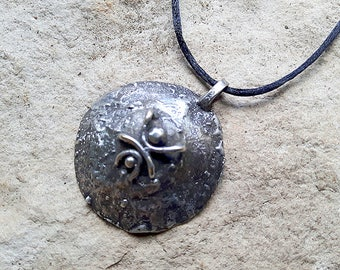 Arachne Pendant, Wicca Pendant, Pure copper Wicca Necklace, Witch necklace,  Witch jewelry, Pagan jewelry