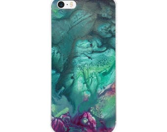 "Exclusive Orignial Design by Aditi-Kali-""Fearie Green"" iPhone Case"