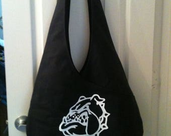Bulldog bag for Royse City students and boosters, 3 sizes